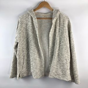 Madewell Hoodie Cardigan Size: Small